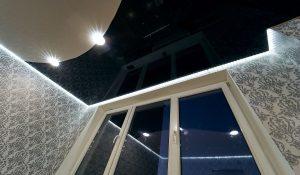 Kokios yra satininės įtempiamos lubos arba pusiau blizgios įtempiamos lubos