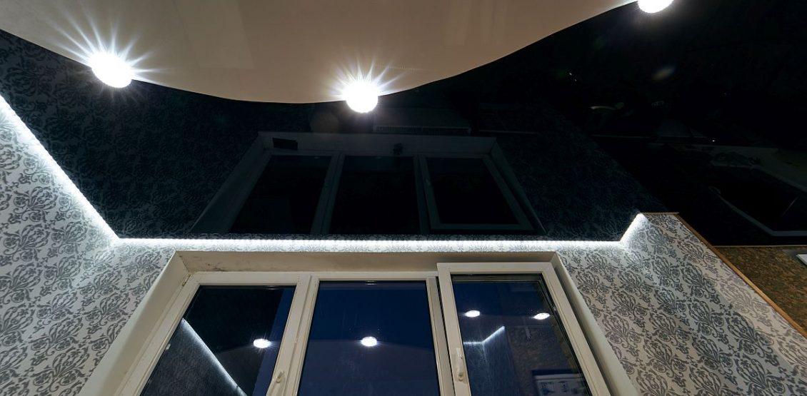 Kokios yra satininės įtempiamos lubos arba pusiau blizgios įtempiamos lubos?