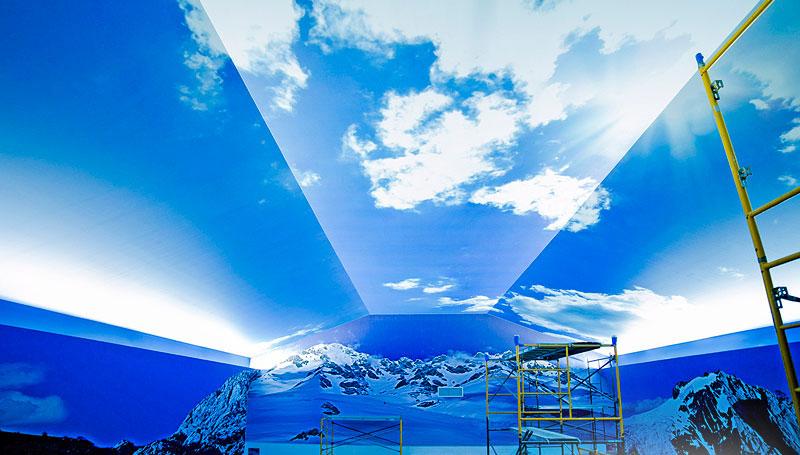 Įtempiamos lubos su 3D efektu - Privalumai