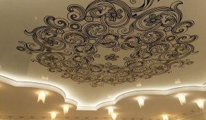 Įtempiamu lubų raštai ir ornamentai
