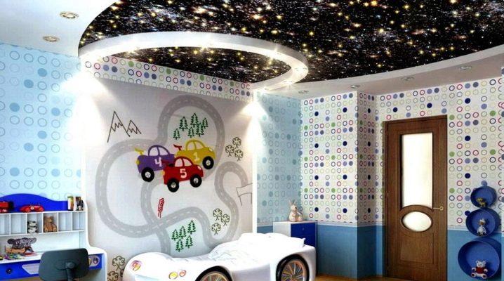 Įtemptos lubos vaikų kambaryje, Kodėl tai tinkamiausias sprendimas?